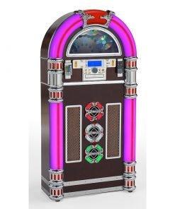 Steepletone CD Rock Zero 50 TWO Retro Style Floor Standing Jukebox