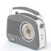 Steepletone Brighton 1950's Retro Style Portable FM/MW/LW Radio
