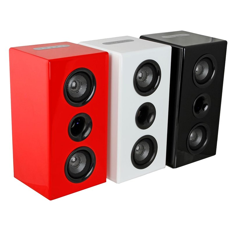 Steepletone Studio Bluetooth Boom Box Speaker System with AUX – IN