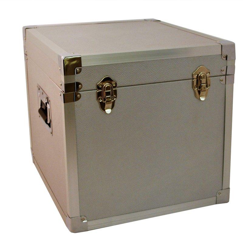 Steepletone SRB100-SRB2 COMBO Large Storage & Carry Case with Smaller LP Case Inside (Grey)