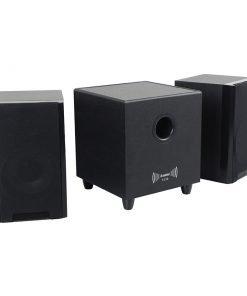 Steepletone T – 012 2. 1 Multi – Media Active Sub – Woofer and Satellite Speakers
