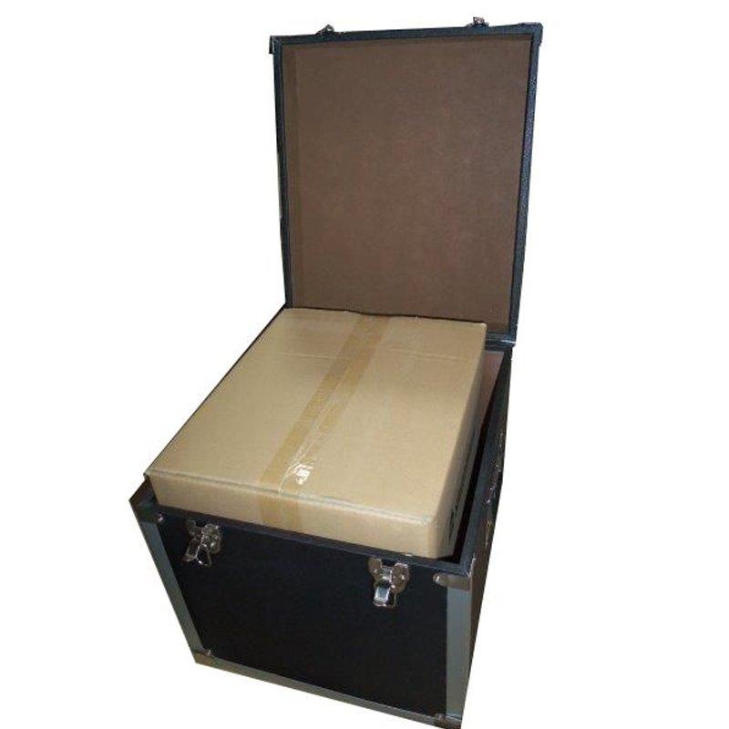 Steepletone SRB100-SRB2 COMBO Large Storage & Carry Case with Smaller LP Case Inside (Black)